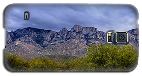 Galaxy S5 Case featuring the photograph Catalina Mountains P1 by Mark Myhaver