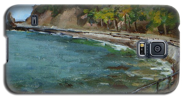 Catalina Trees At Lovers Cove Galaxy S5 Case