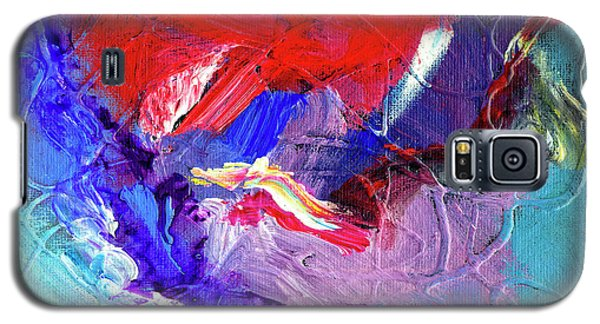 Galaxy S5 Case featuring the painting Catalyst by Dominic Piperata