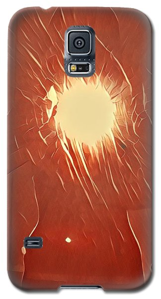 Galaxy S5 Case - Catching Fire by Gina Callaghan