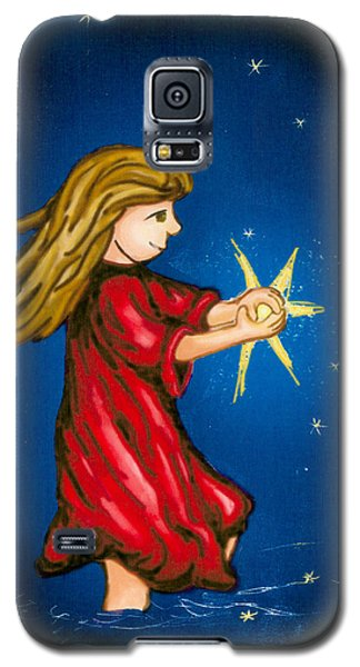 Catching Moonbeams Galaxy S5 Case by Jana Nielsen