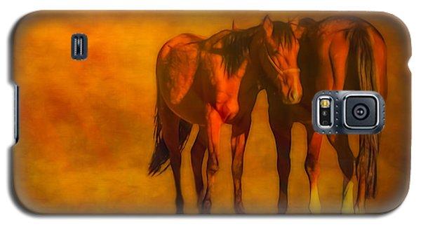 Catching The Last Sun Digital Painting Galaxy S5 Case
