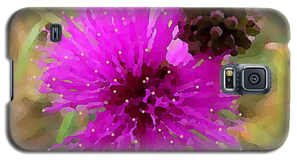 Catclaw Pink Mimosa  Galaxy S5 Case