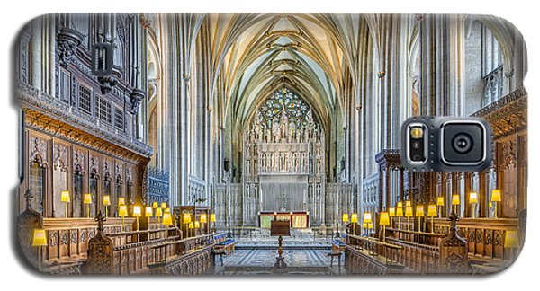 Cathedral Aisle Galaxy S5 Case