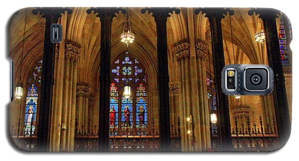 Galaxy S5 Case featuring the photograph Cathedral Arches by Jessica Jenney