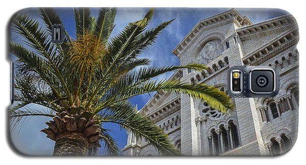 Galaxy S5 Case featuring the photograph Cathedral At Monte Carlo by Allen Sheffield