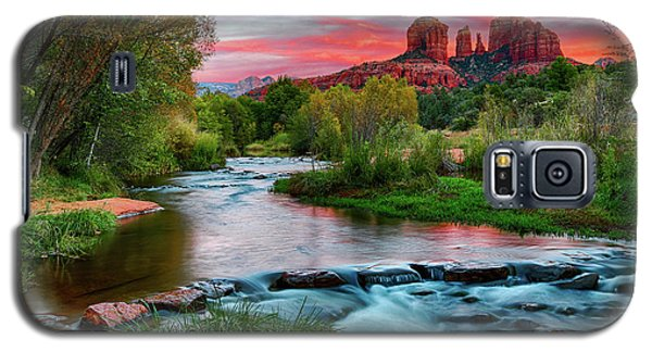 Cathedral At Sunset Galaxy S5 Case