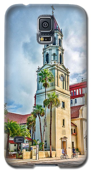 Galaxy S5 Case featuring the photograph Cathedral Basilica by Anthony Baatz