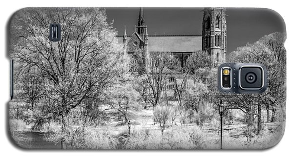 Galaxy S5 Case featuring the photograph Cathedral Basilica Of The Sacred Heart Ir by Susan Candelario