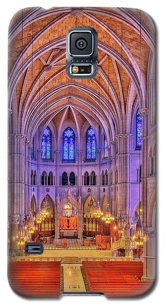 Galaxy S5 Case featuring the photograph Cathedral Basilica Of The Sacred Heart Newark Nj II by Susan Candelario