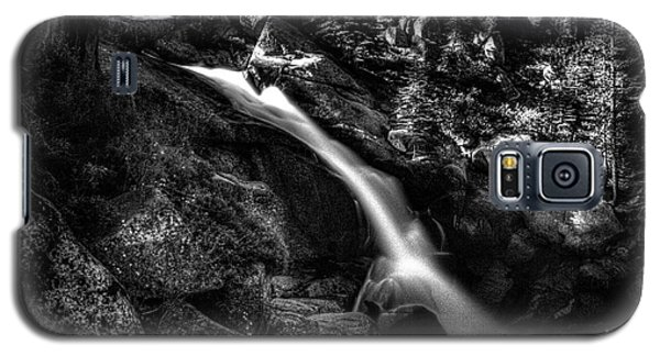 Cathedral Falls From The Tioga Pass Road Galaxy S5 Case