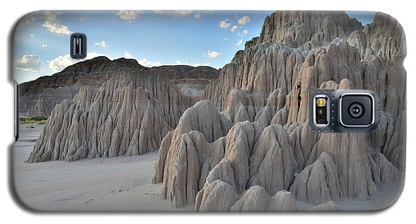 Cathedral Gorge State Park Galaxy S5 Case by Ray Mathis