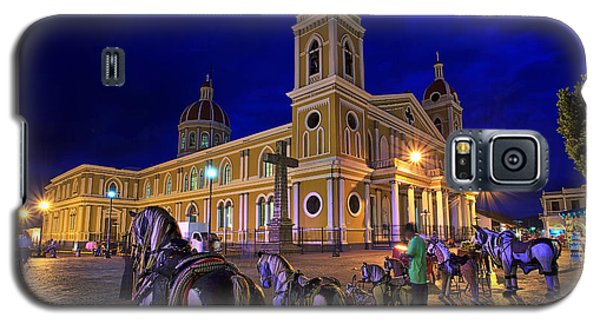 Cathedral Of Granada Shines Brightly Galaxy S5 Case