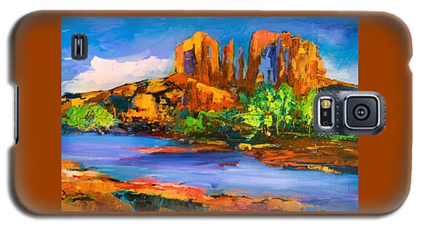 Cathedral Rock Afternoon Galaxy S5 Case by Elise Palmigiani