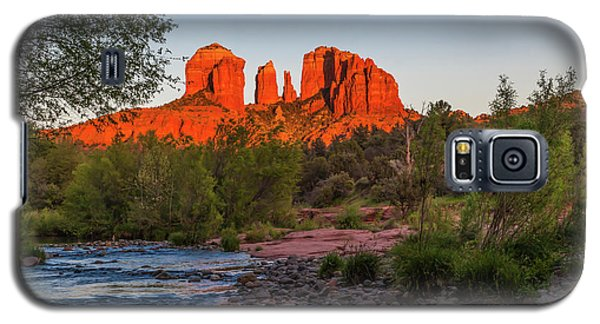 Cathedral Rock At Red Rock Crossing Galaxy S5 Case