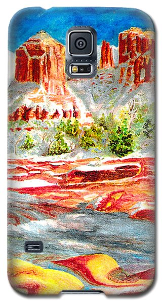 Cathedral Rock Crossing Galaxy S5 Case