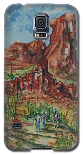 Hiking Cathedral Rock,  Sedona, Az. Galaxy S5 Case