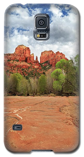 Galaxy S5 Case featuring the photograph Cathedral Rock Sedona by James Eddy