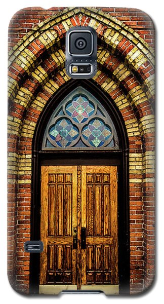 Cathedral Tower Door Galaxy S5 Case by Onyonet  Photo Studios