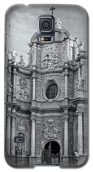 Galaxy S5 Case featuring the photograph Cathedral Valencia Spain by Joan Carroll