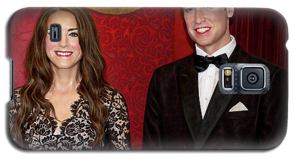 Galaxy S5 Case featuring the photograph Catherine And Prince William by Miroslava Jurcik
