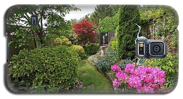 Cathy's Garden - A Little Slice Of England Galaxy S5 Case by Gill Billington