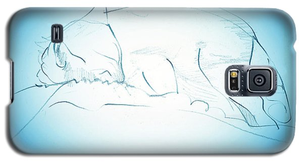 Catnap Galaxy S5 Case by Denise Fulmer