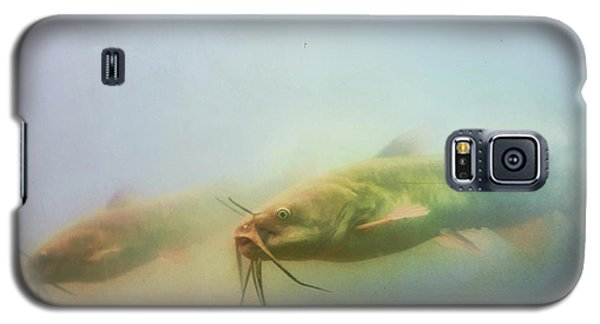 Catfish Galaxy S5 Case - Cats In The Water by Susan Capuano