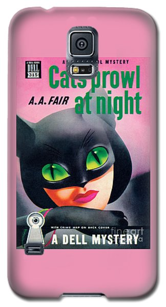 Cats Prowl At Night Galaxy S5 Case