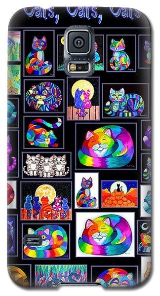 Catscatscats Galaxy S5 Case by Nick Gustafson