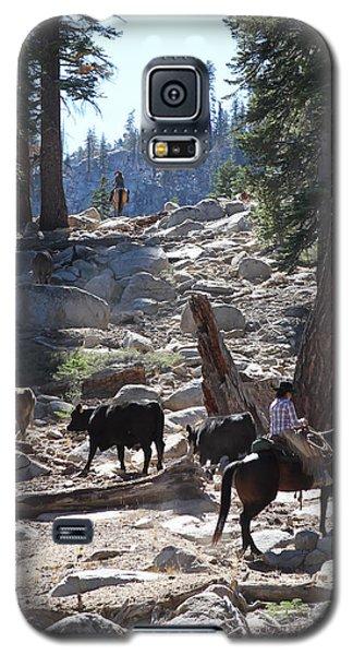 Cattle Climbing Galaxy S5 Case