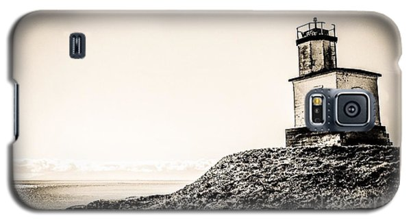 Cattle Point Lighthouse Galaxy S5 Case by William Wyckoff