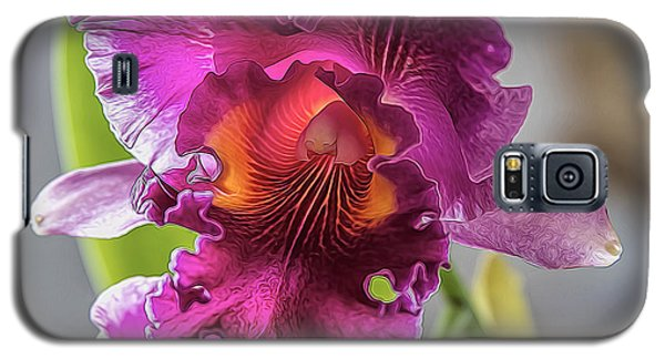 Cattleya Galaxy S5 Case