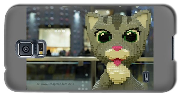 Galaxy S5 Case featuring the photograph Caturday In Legoville by Lora Lee Chapman