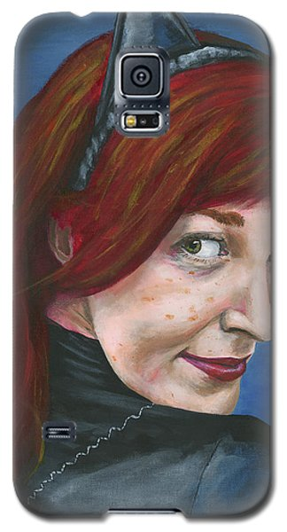 Catwoman Galaxy S5 Case