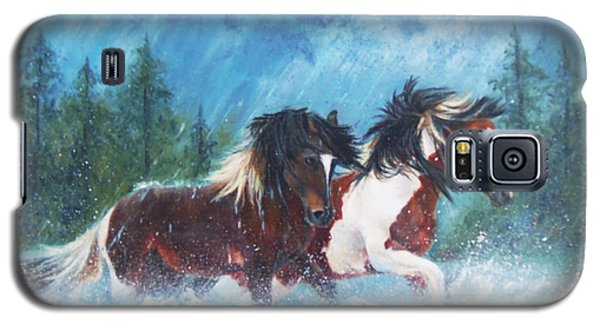 Caught In The Rain  Galaxy S5 Case by Karen Kennedy Chatham