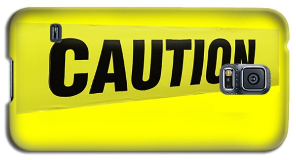 Caution Tape Galaxy S5 Case