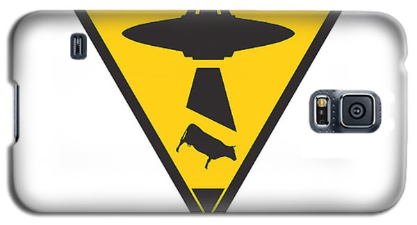 Caution Ufos Galaxy S5 Case by Pixel Chimp