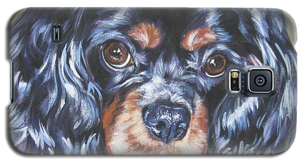 Cavalier King Charles Spaniel Black And Tan Galaxy S5 Case