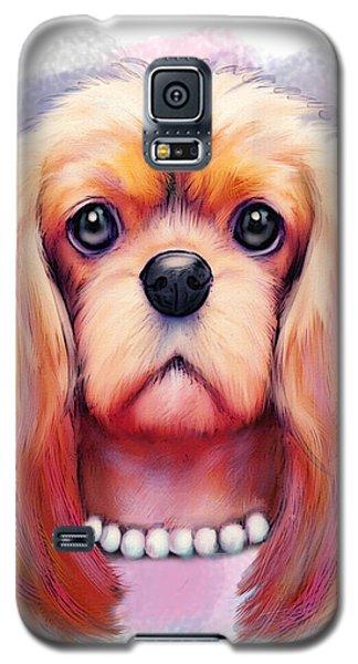 Cavalier Pearls  Galaxy S5 Case
