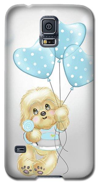 Cavapoo Toby Baby Galaxy S5 Case