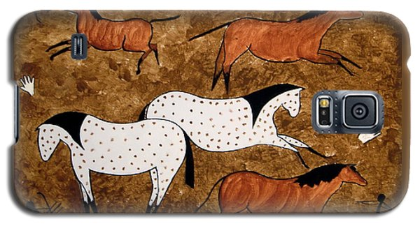 Cave Horses Galaxy S5 Case by Stephanie Moore