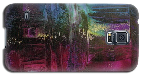 Galaxy S5 Case featuring the painting Cave Of Dreams by Mary Sullivan