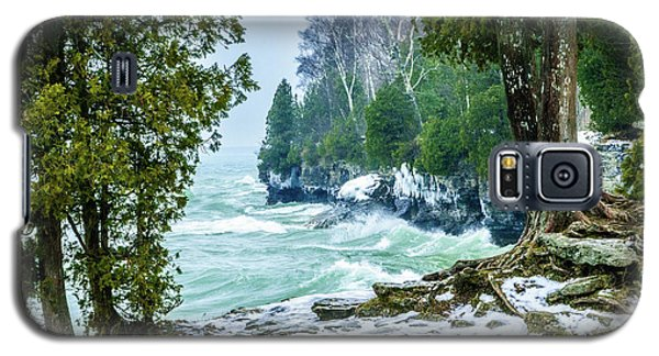 Cave Point #5 Galaxy S5 Case