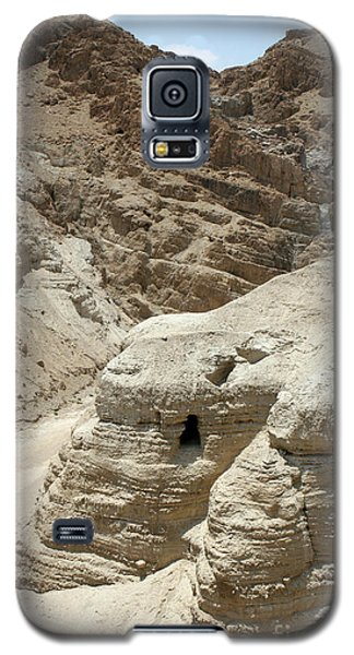 Caves Of The Dead Sea Scrolls Galaxy S5 Case