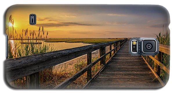 Cedar Beach Pier, Long Island New York Galaxy S5 Case