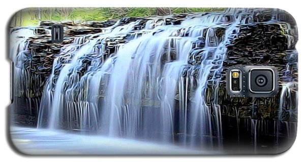 Cedar Creek Falls, Kansas Galaxy S5 Case