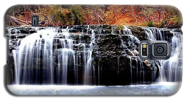 Cedar Creek Falls, Kansas Galaxy S5 Case