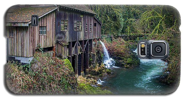 Cedar Grist Mill Galaxy S5 Case