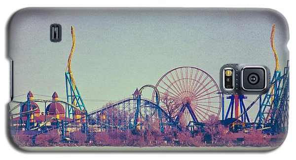 Cedar Point Skyline Galaxy S5 Case